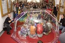 Rekord - největší bublina.