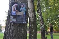 Až do této soboty si lidé v humpoleckém parku Stromovka mohou všimnout patnácti tematických plakátů o kávě a jejích pěstitelích, které visí na stromech.