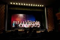Pěvecký sbor Lípa vystoupil v rámci slavnostního koncertu ke 150. výročí od jeho založení společně s pěveckým sborem Kamínek.
