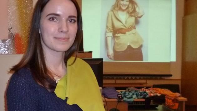 Do Kamenice nad Lipou zavítala profesionální stylistka a vizážistka Dana Beranová.