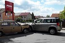 Při nehodě v Kamenici nad Lipou se zranilo pět lidí.