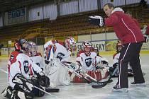 Pod vedením trenéra brankařů extraligových Vítkovic Rostislava Haase se v Pelhřimově uskutečnil kemp sportovní školy GDI (Goalie Development Institute), která se zaměřuje na výchovu hokejových gólmanů.