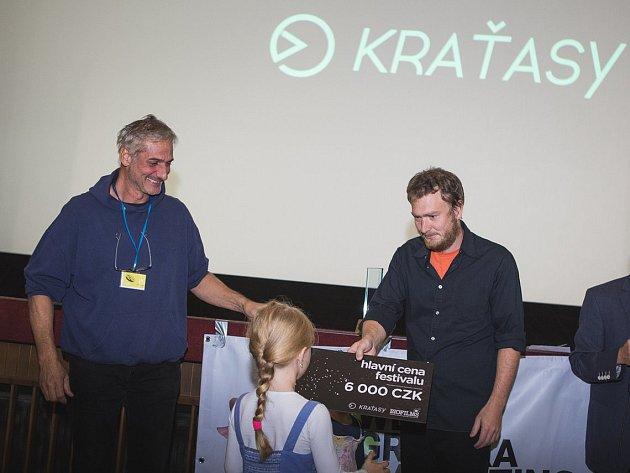 Filmový festival Kraťasy se konal v Pelhřimově od 1. do 3. září.