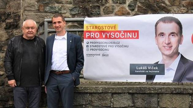 Lukáš Vlček vede do voleb Starosty pro Vysočinu