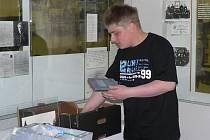 Stěhování pacovského muzea pokračuje podle plánů. Na snímku je ředitel muzea Vlastimil Simota.