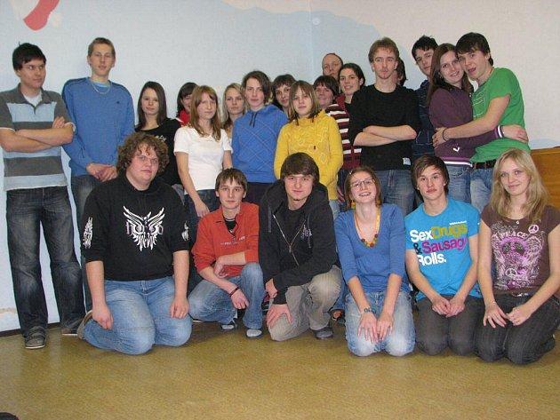 Kolektiv studentů 3.A Gymnázia Pelhřimov