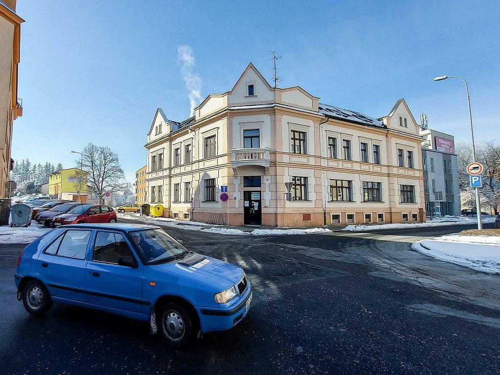Úřad práce v Havlíčkově Brodě.