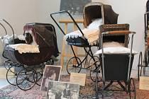 Historické kočárky si mohou zájemci prohlédnout až do začátku října v pelhřimovském Muzeu Vysočiny.