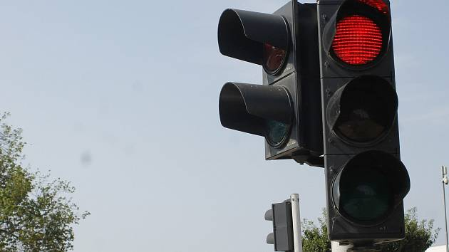 Semafor, ilustrační foto
