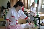 Mistrovství republiky studentů oboru prodavač a obchodník.