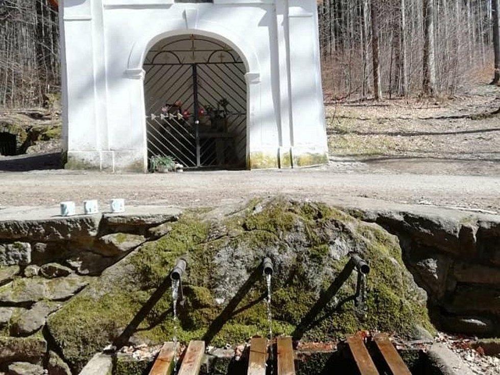 Pod vrcholem hory Křemešník na Pelhřimovsku pramení zázračná voda