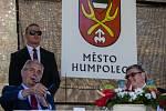 Návštěva prezidenta republiky Miloše Zemana v Humpolci.