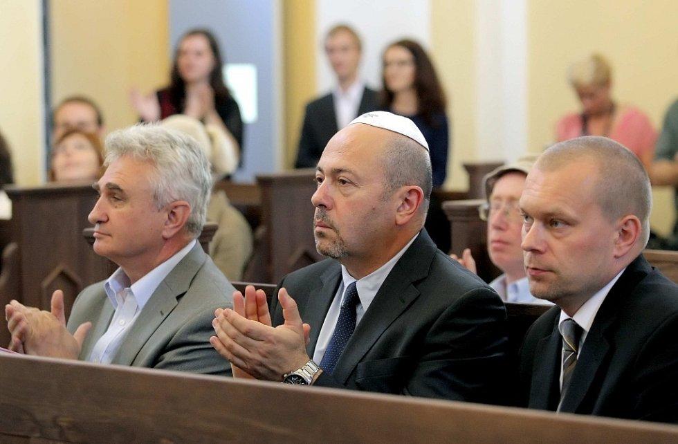 Otevření opravené synagogy v Nové Cerekvi