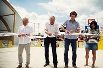 Slavnostní otevření Sportovního centra Beachwell