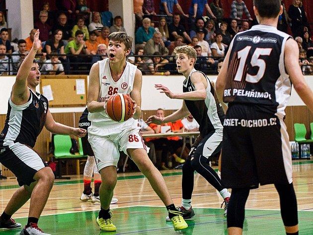 Mezinárodní úspěch. Mladí pelhřimovští basketbalisté znamenitě využili domácího prostředí. V rámci evropského poháru EYBL vyhráli tři zápasy ze čtyř.
