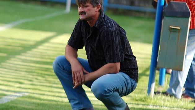 Trenér Ján Kubík.