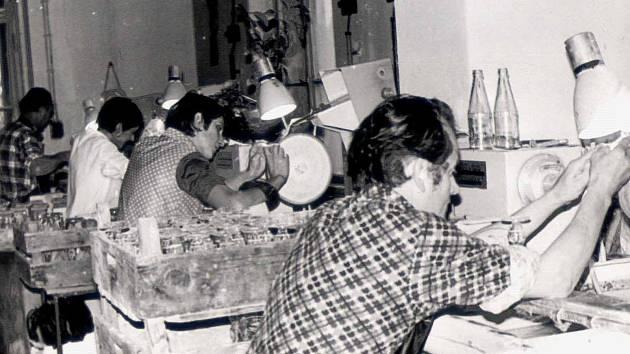Na závod v Kamenici nad Lipou a ve Včelničce byla 9. dubna roku 1949 uvalena národní správa. Podnik tak byl bez náhrady převeden do majetku skláren Český křišťál ve Včelničce a odtud byl v roce 1961 přestěhován do Kamenice nad Lipou.