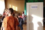 Dětské volby v Olešné.