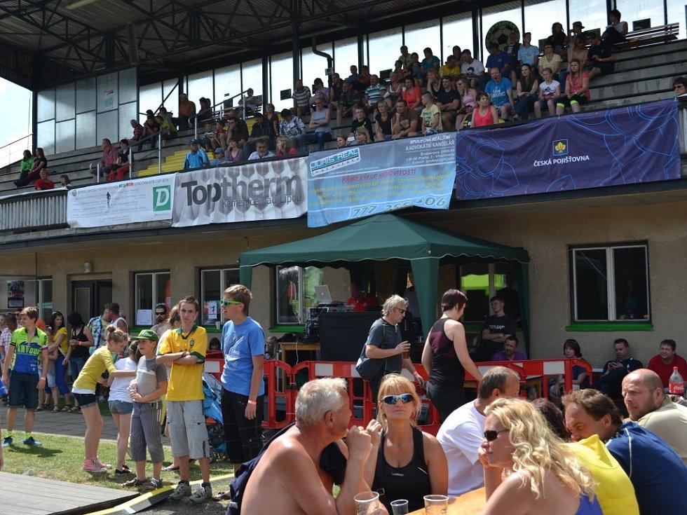 Jubilejní ročník závodu a Slavností města přilákal rekordní počet závodníků.