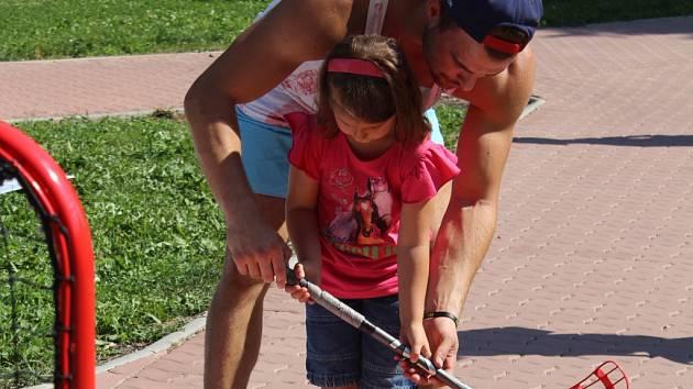 Děti si na akci mohly vyzkoušely plno zajímavých aktivit.