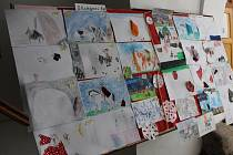 Děti, které rády malují, se mohly během několika uplynulých týdnů zapojit do výtvarné soutěže na téma svatý Martin.