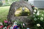 Odhalení památníku ve Vřesníku