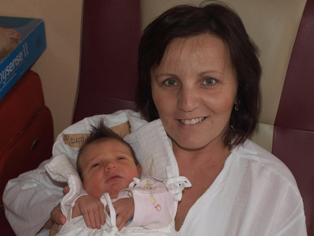 Sára Slatinská, 7.12.2012, Pacov, 3 450 g