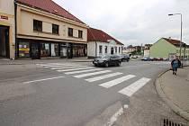 Přechod na náměstí v Pacově