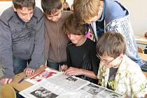 Studenti tercie se v rámci mediálně pojatého projektu dozvěděli o tom, co obnáší novinářská práce.