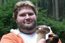 Pelhřimovský mykolog Jakub Šiška