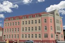 Takhle by budovy bývalého sídla policie měly vypadat po plánované rekonstrukci.