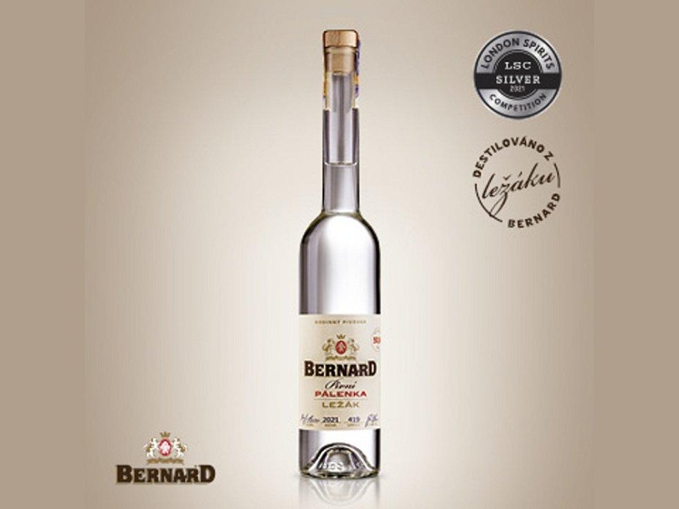 Bernardova pivní pálenka.