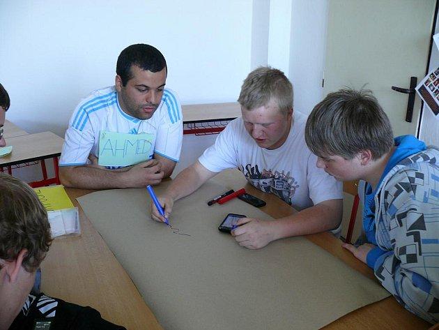 Dobrovolníci v Pelhřimově.