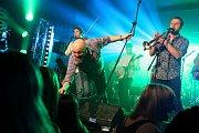 Kapela Poletíme? vystoupila v pátek 22. března v humpoleckém Hellclubu.