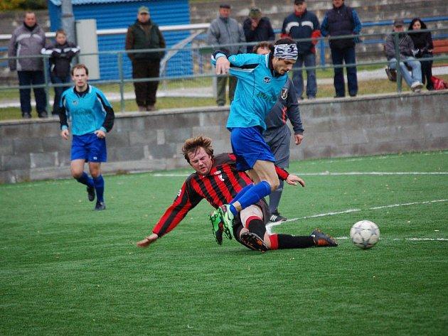 Sousedské klání se Speřicemi patřilo mezi ta vydařenější utkání podzimu. Skončilo nerozhodným výsledkem 1:1.