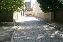 Žižkova ulice v Humpolci