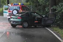 Vážnou nehodu mezi Želivem a Křelovicemi na Pelhřimovsku pravděpodobně zavinilo řízení v opilosti.