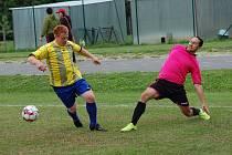 Fotbalisté Počátek vedou III. třídu s náskokem dvou bodů. Směřují tak za návratem do Poutník ligy.