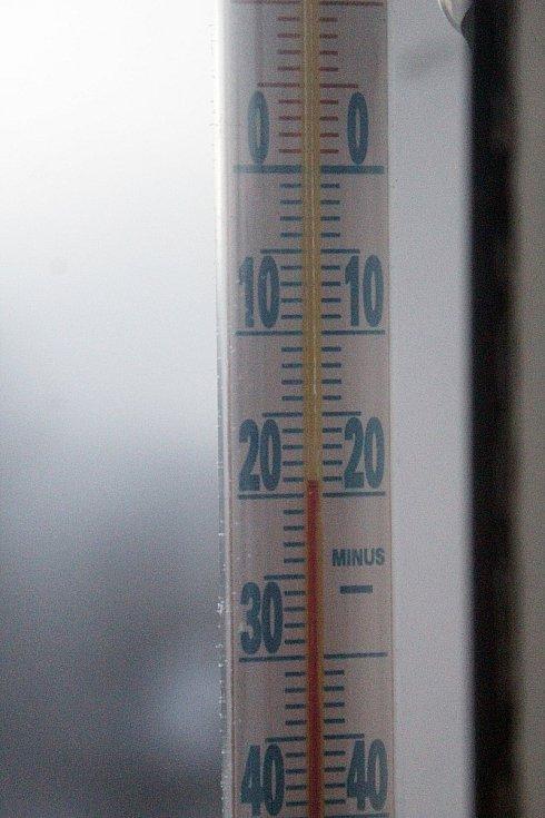 Mrazivé ráno ve Světlé nad Sázavou. Foto: Jan Šafránek
