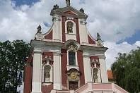 Kaple svatého Václava v Pacově.