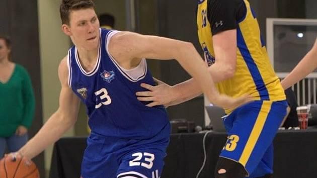 František Fuxa basketbalově vyrostl v Pelhřimově, nyní nejvyšší soutěž hraje v barvách USK Praha.