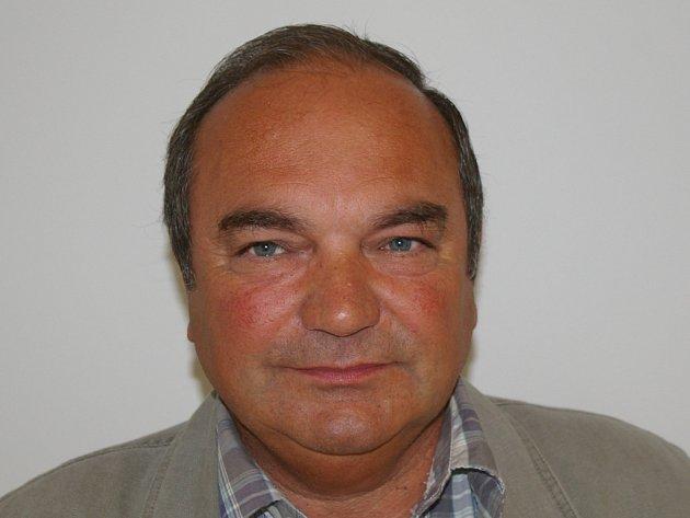 Organizátor dožínek Josef Houček