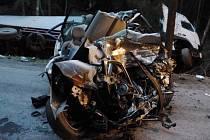 Tragická nehoda u Pacova.