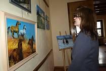 Výstava Michala Pudila v Galerii M.