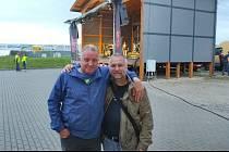 Loni na Bernard Cupu s Radkem Zimou.