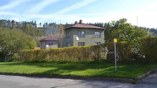 Dům v Želivě.