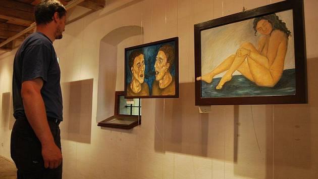 Tvorbu začínající výtvarnice Moniky Bízové představuje Galerie Bernarda Bolzana.