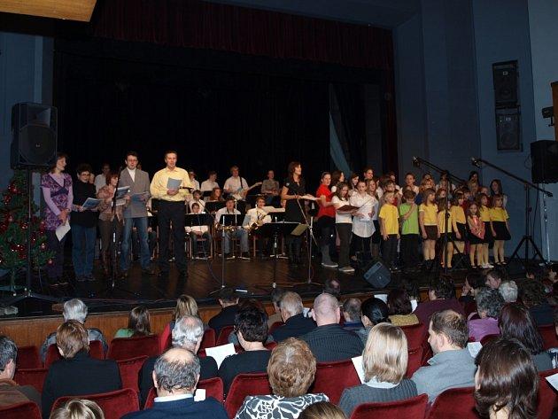 Koledy se zpívaly i v Pelhřimově.