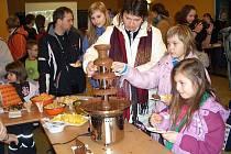 Čtvrteční odpoledne v pelhřimovském kulturním domě Máj patřilo Čokoládové hodině.