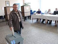 Volby v Kamenici nad Lipou.